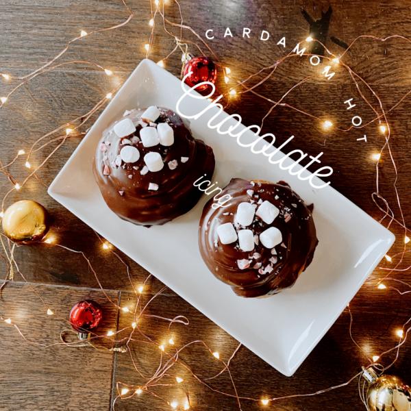 Cardamom Hot Chocolate Icing