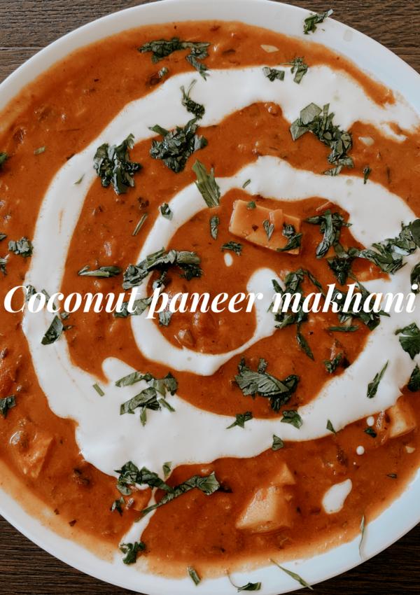 Coconut Paneer Makhani