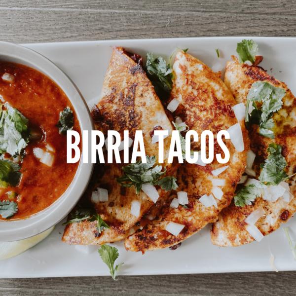 Vegetarian Birria Tacos
