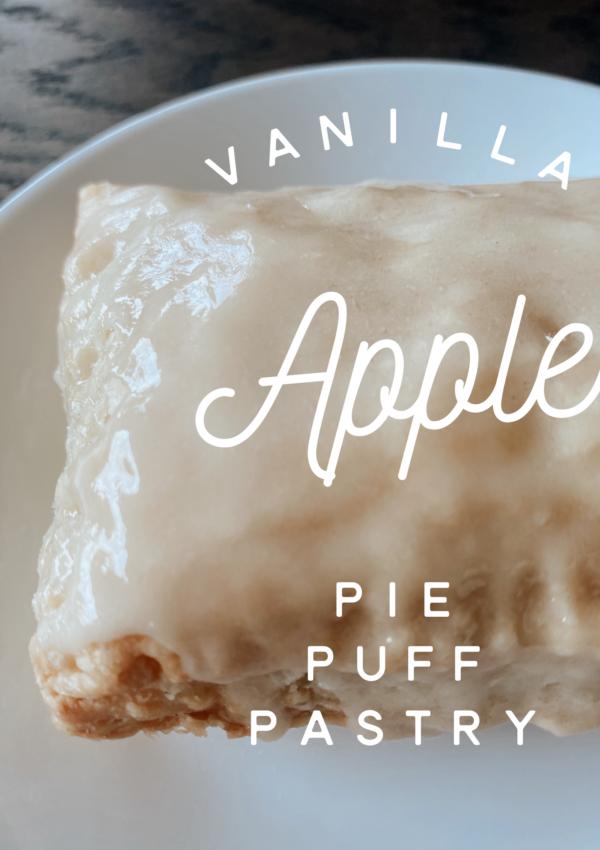Vanilla Apple Pie Puff Pastry