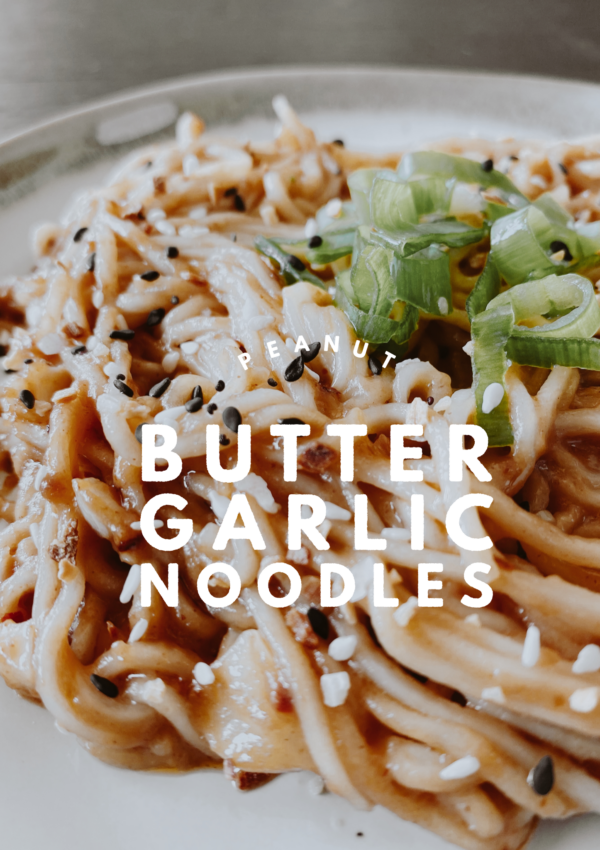 Peanut Butter Garlic Noodles