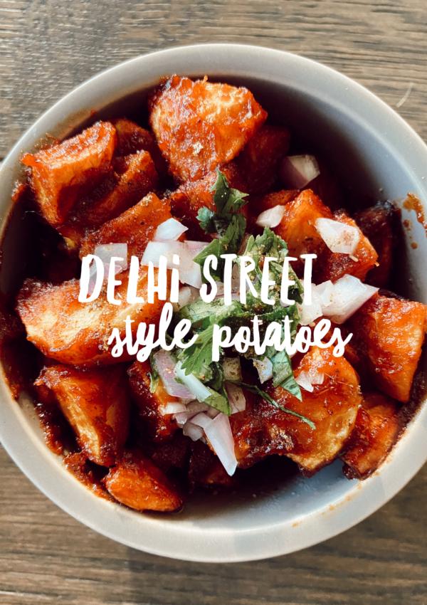 Delhi Street Style Potatoes