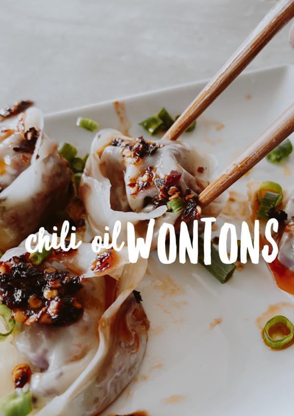 Chili Oil Wontons