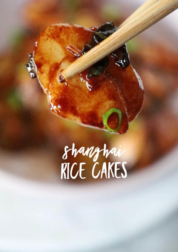 Shanghai Rice Cakes