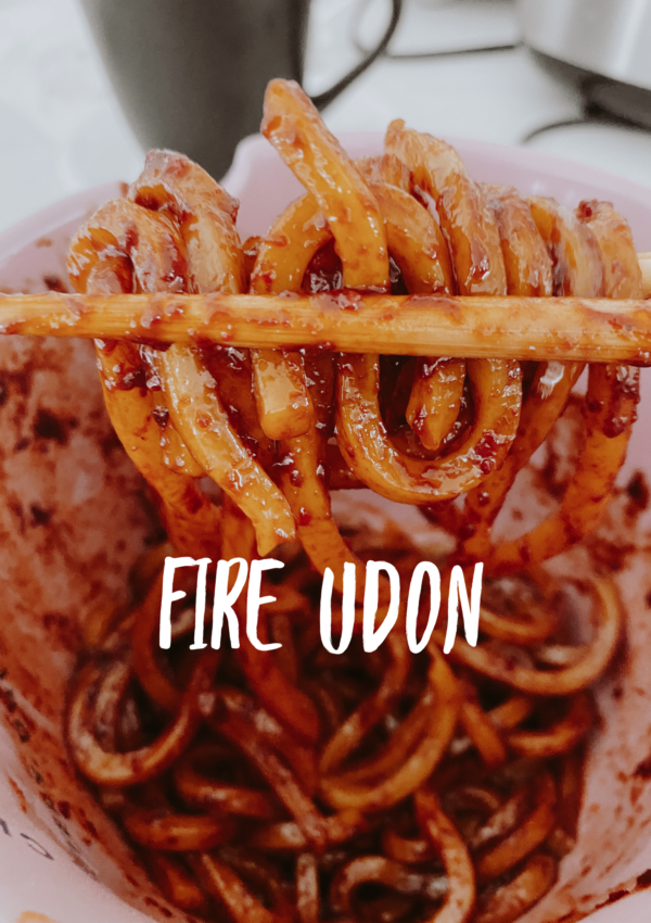 Fire Udon