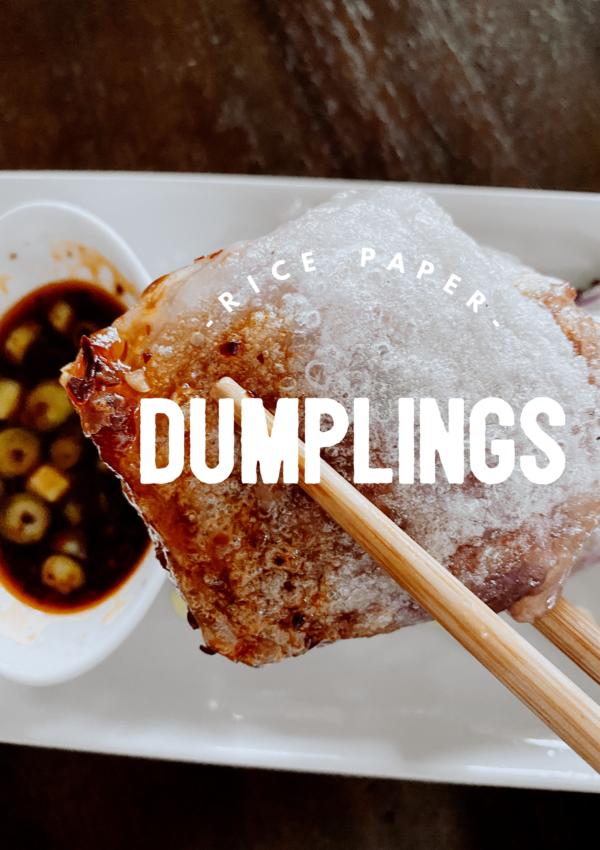 Rice Paper Dumplings